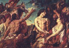 Obraz olejny flamandzkiego mistrza Jacobsa Jordaensa odnaleziony w magazynie walijskiego muzeum