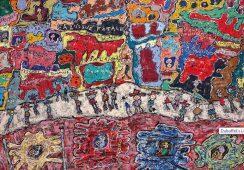 Jeden z najlepszych obrazów Dubuffeta na aukcji nowojorskiej Christie's