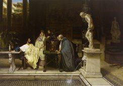 Odnaleziono zaginione dzieło jednego z największych malarzy wiktoriańskich,  Lawrence'a Alma-Tademy