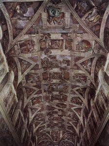 Michał Anioł, sufit Kaplicy Sykstyńskiej