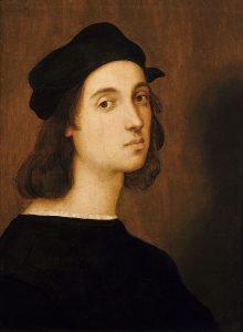 Rafael Santi, Autoportret, 1506