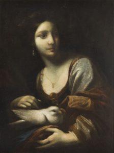 Simone Pignoni, Alegoria czystości (św. Reparata), lata 40 XVII wi., olej na płótnie dublowanym, źródło: DESA Unicum