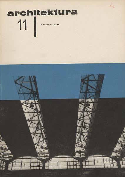 Wojciech Zamecznik Architektura No 11 Plakat źródło