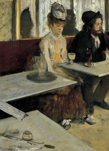 Edgar Degas, Absynt, 1876