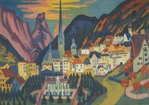 Ernst Ludwig Kirchner, Davos im Sommer, 1925