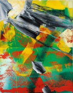 Gerhard Richter, Garten, 1982, źródło: Sotheby's