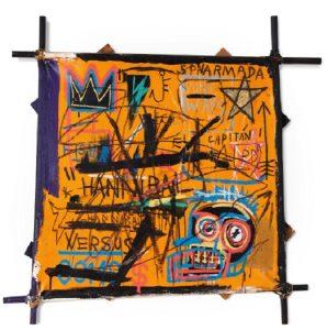 Jean-Michel Basquiat, Hannibal, 1982, źródło: Sotheby's