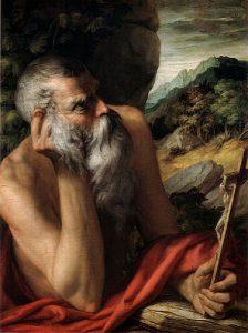 Parmigianino, Święty Hieronim, około 1520-30