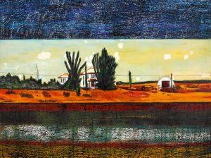 Peter Doig, Grasshopper, 1990, źródło: Sotheby's