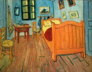 Vincent van Gogh, Pokój van Gogha w Arles, 1888