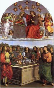 Rafael Santi, Koronacja Najświętszej Marii Panny, 1502-1504