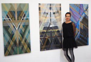 """Wystawa """"Konstelacje"""" w Galerii Svavel w Szwecji, maj 2016, materiały dzięki uprzejmości artysty"""