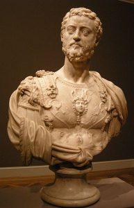 Benvenuto Cellini, popiersie Kosmy I Medyceusza