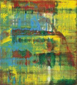 Gerhard Richter, Abstraktes Bild (809-2), 1994, źródło: Christie's