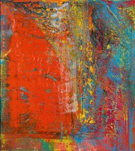 Gerhard Richter, Still, 1986, źródło: Sotheby's