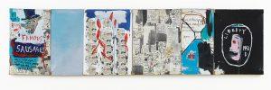 Jean-Michel Basquiat, Brother's Sausage, 1983, źródło: Sotheby's