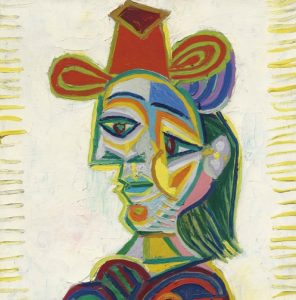 Pablo Picasso, Buste de Femme (Dora Maar), 1938, źródło: Christie's