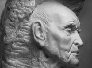 Michał Jackowski, Passing, marmur karraryjski, 2016, materiały dzięki uprzejmości artysty