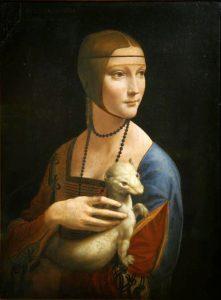 Leonardo da Vinci, Dama z gronostajem, ok. 1489