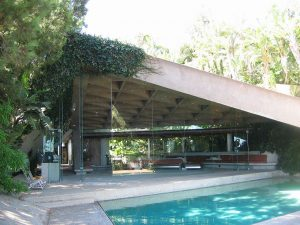 Goldstein house (widok z tarasu), Los Angeles