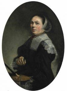 Judith Leyster, Portret artystki, źródło: Christie's