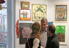 Sztuka naiwna coraz popularniejsza, czyli sukces Outsider Art Fair 2017