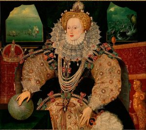 The Armada Portrait of Elizabeth I, 1590
