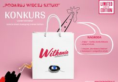 Konkurs charytatywny – wygraj grafikę Józefa Wilkonia