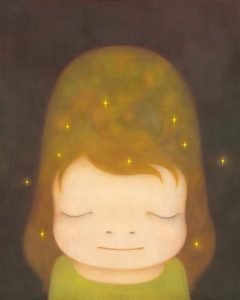 Yoshitomo Nara, The Little Star Dweller, źródło: christie's
