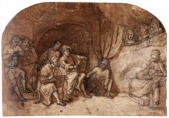 Odkryto kolejny rysunek autorstwa Rembrandta