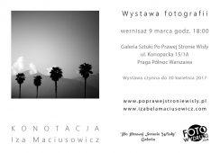 Wystawa fotografii Izy Maciusowicz - KONOTACJA