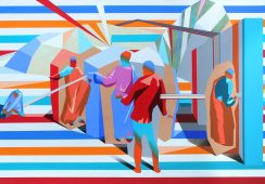 IDEA HOMINI. Wystawa malarstwa Marcina Kowalika