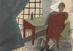 Zaginiony pejzaż René Guiette'a odkryty pod przedstawieniem art brut