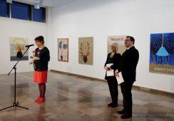 Fotorelacja z wystawy Bettiny Bereś w Nowohuckim Centrum Kultury