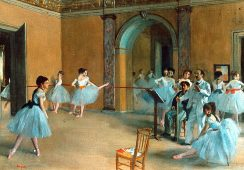 Edgar Degas na rynku sztuki