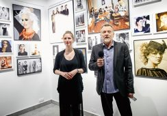 Wernisaż wystawy Andrzeja Tyszko Twarze Muzyki w Ney Gallery&Prints - fotorelacja