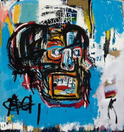 Jean-Michel Basquiat, Untitled, 1982, źródło: Sotheby's