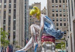 Jeff Koons skopiował rzeźbę ukraińskiej artystki?
