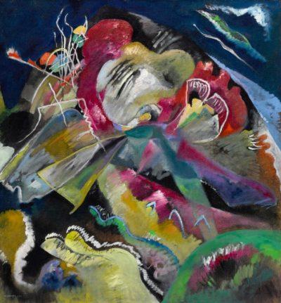 Wassily Kandinsky, Bild mit weissen Linien, 1913, źródło: Sotheby's