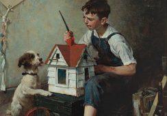 Odnaleziono kolejne dzieło Normana Rockwella