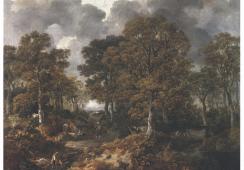 Ponad 20 nieznanych rysunków Thomasa Gainsborough odkrytych w bibliotece