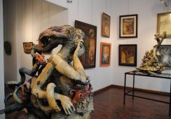 Wystawa malarstwa i rzeźby Kazimierza Kalkowskiego w gdańskiej Galerii Triada