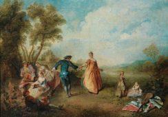 Niedostępny dla publiczności 128 lat obraz Nicolasa Lancreta trafi na aukcję Sotheby's