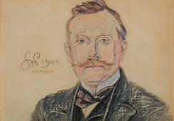 Odnaleziony obraz Stanisława Wyspiańskiego uświetni październikową aukcję