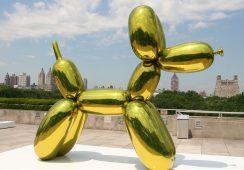 Rzeźba Jeffa Koonsa ofiarą wirtualnego wandalizmu