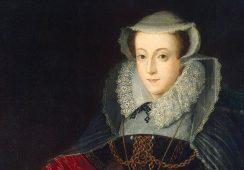 Portret Marii I Stuart odkryty pod obrazem holenderskiego malarza?