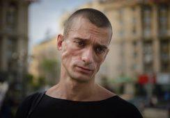 Piotr Pawlenski – artysta, który podpalił Bank Francji – stanął przed sądem