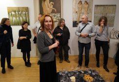 Wernisaż wystawy malarstwa Moniki Krzakiewicz – fotorelacja