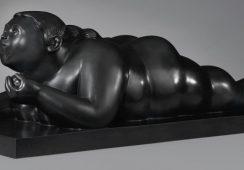 Rzeźba Botero skradziona z paryskiej galerii