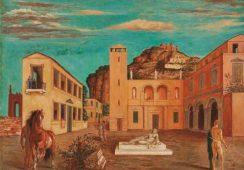 Skradziono warty miliony obraz Giorgio de Chirico